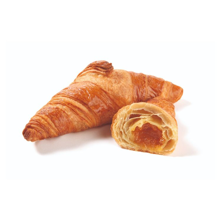 Apricot filled croissant