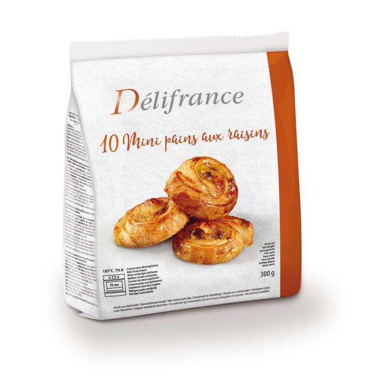 10 mini rozijnenkoeken met boter (14%)