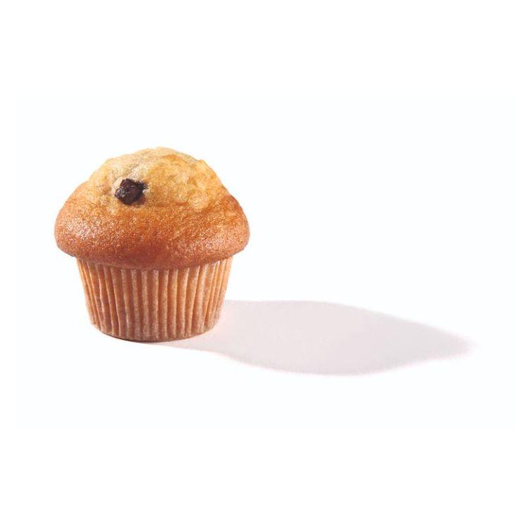Muffin vanille met chocoladeparels