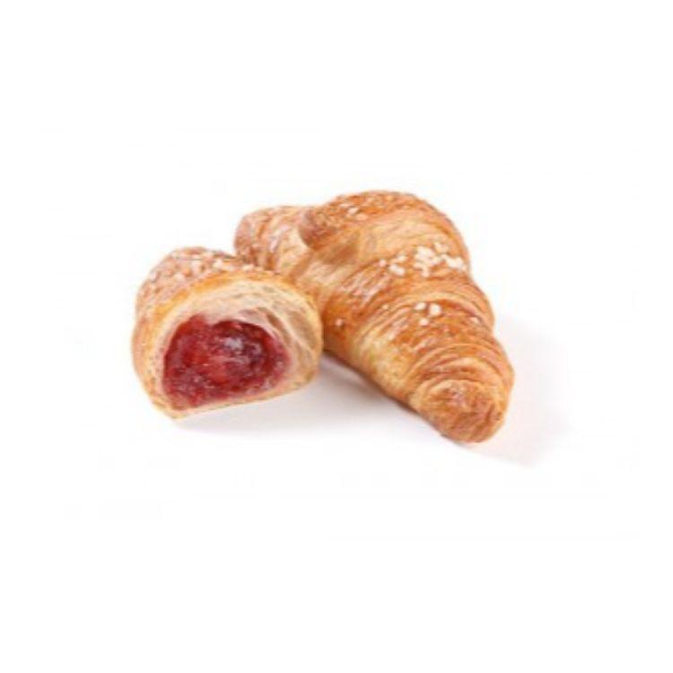 Mini croissant superfarcito al lampone