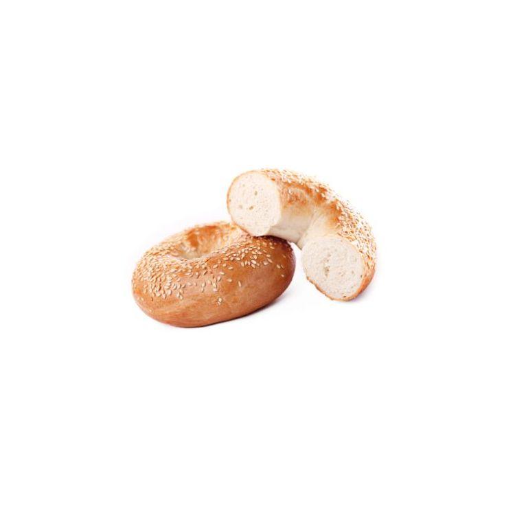 Bagel wit met sesamzaadjes